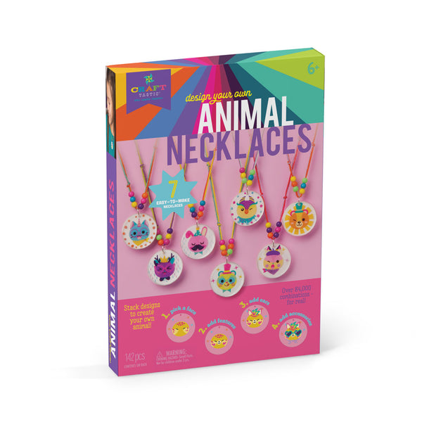 Craft-tastic Design-your-own Stacked Animal Necklaces