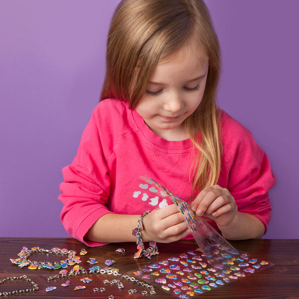 Craft-tastic DIY Sparkle Charm Bracelets Kit