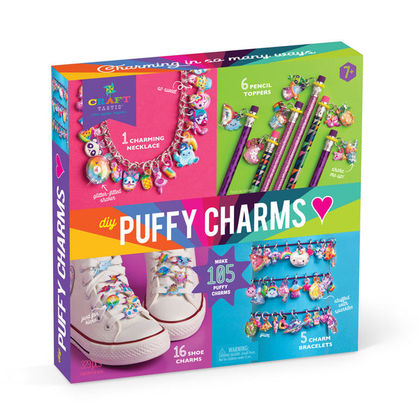 Craft-tastic Fun With DIY Puffy Charms