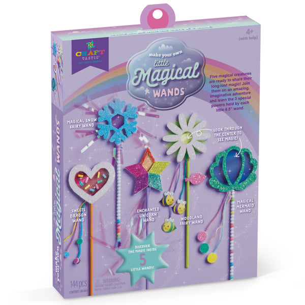 Craft-tastic Make Your Own Little Magical Wands