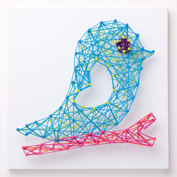 Craft-tastic Bird String Art Kit