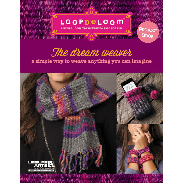 Loopdeloom Little Yarn Packs - Purple/Pink
