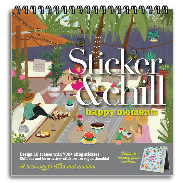 Sticker & Chill Happy Moments