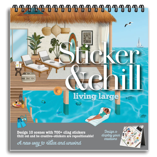 Sticker & Chill Living Large