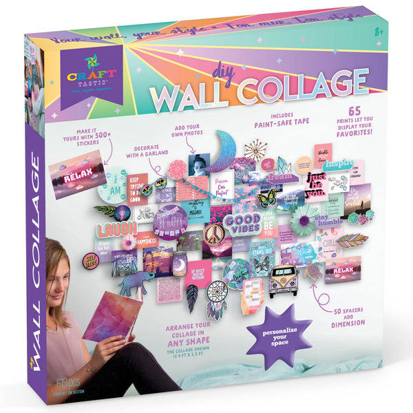 Craft-tastic DIY Wall Collage Kit