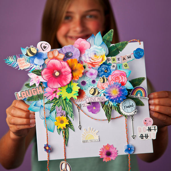Craft-tastic Design Your Own Flower Art Kit