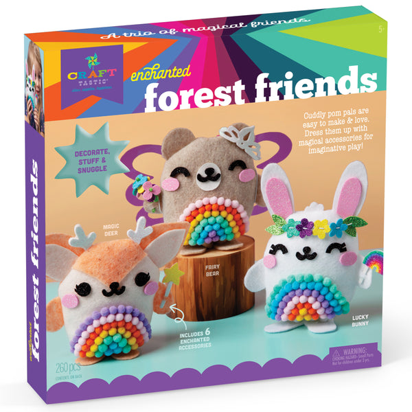 Craft-tastic Enchanted Forest Friends