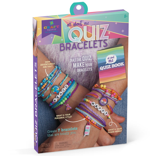 Craft-tastic All About Me Quiz Bracelets Kit