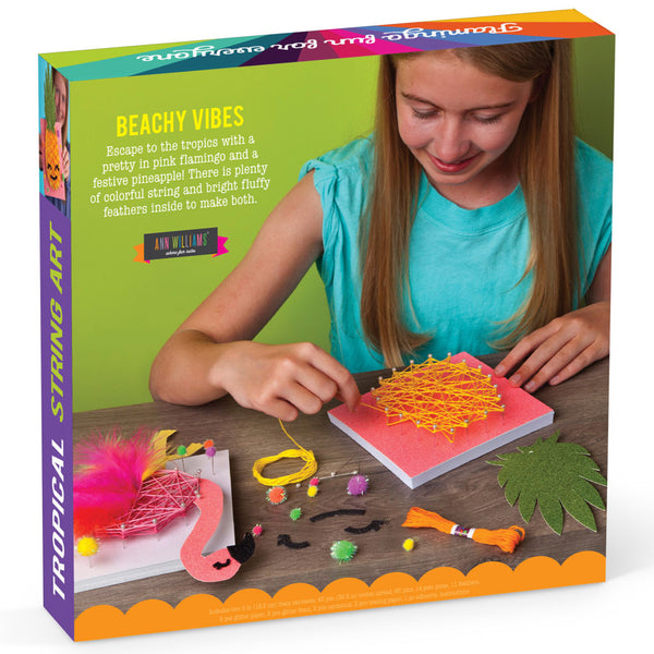 Craft-tastic Tropical String Art Kit