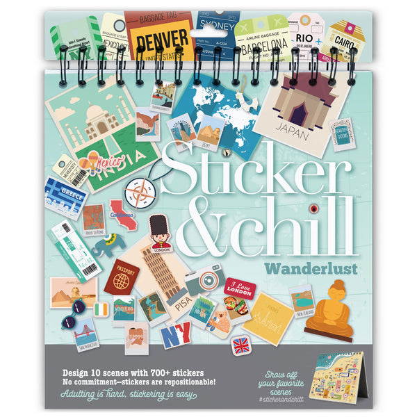 Sticker & Chill Wanderlust