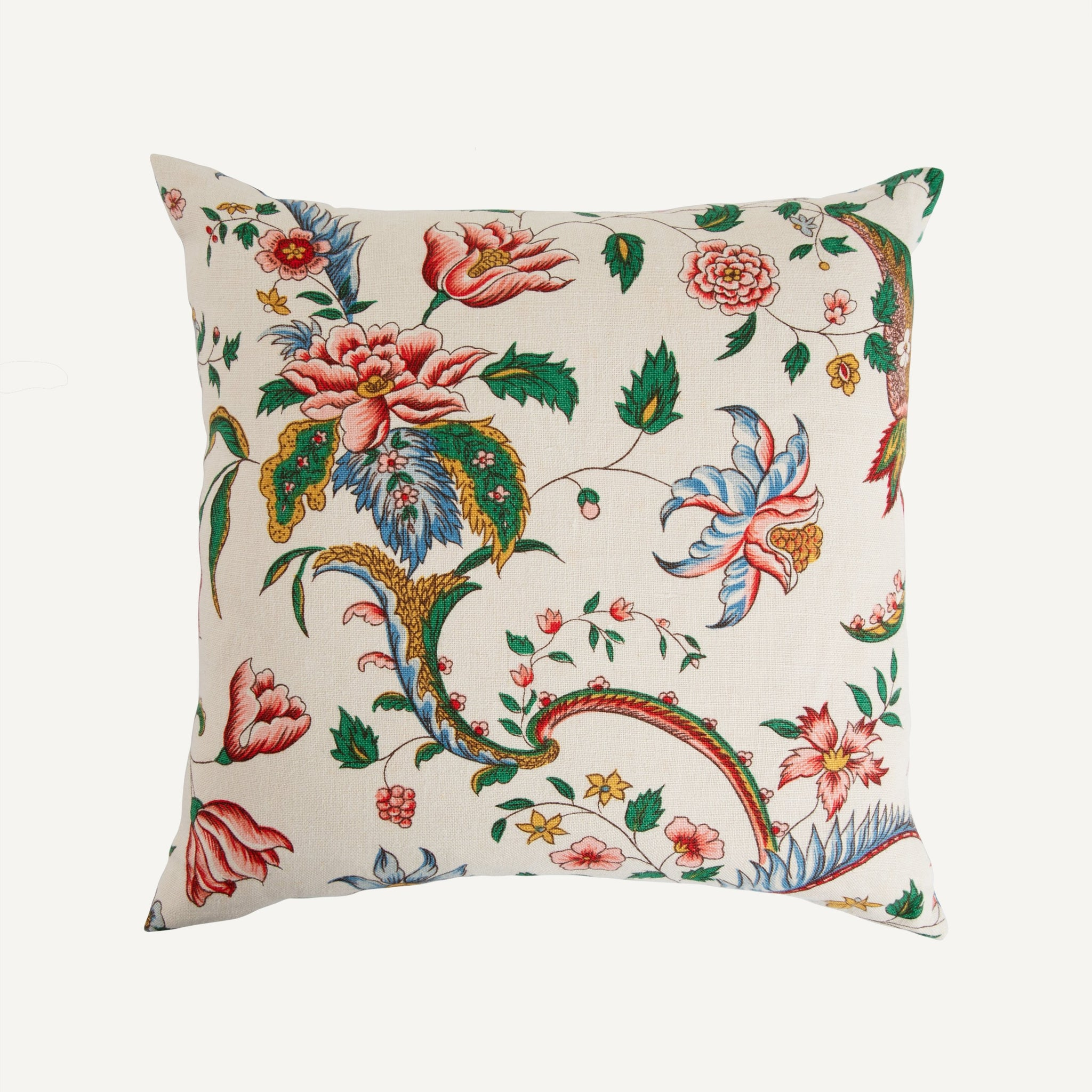 KATHARINE POLE VINTAGE FRENCH FLORAL PILLOW