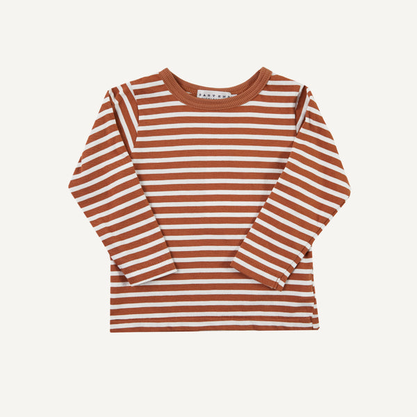 EAST END HIGHLANDER STRIPED TEE