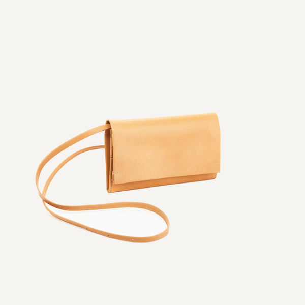 ISAAC REINA PLEATS WALLET WITH STRAP