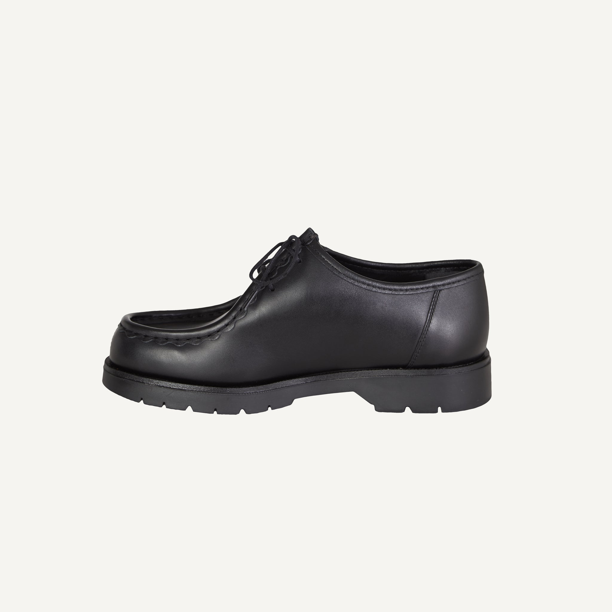 KLEMAN + PLAIN GOODS BLACK PADROR SHOES