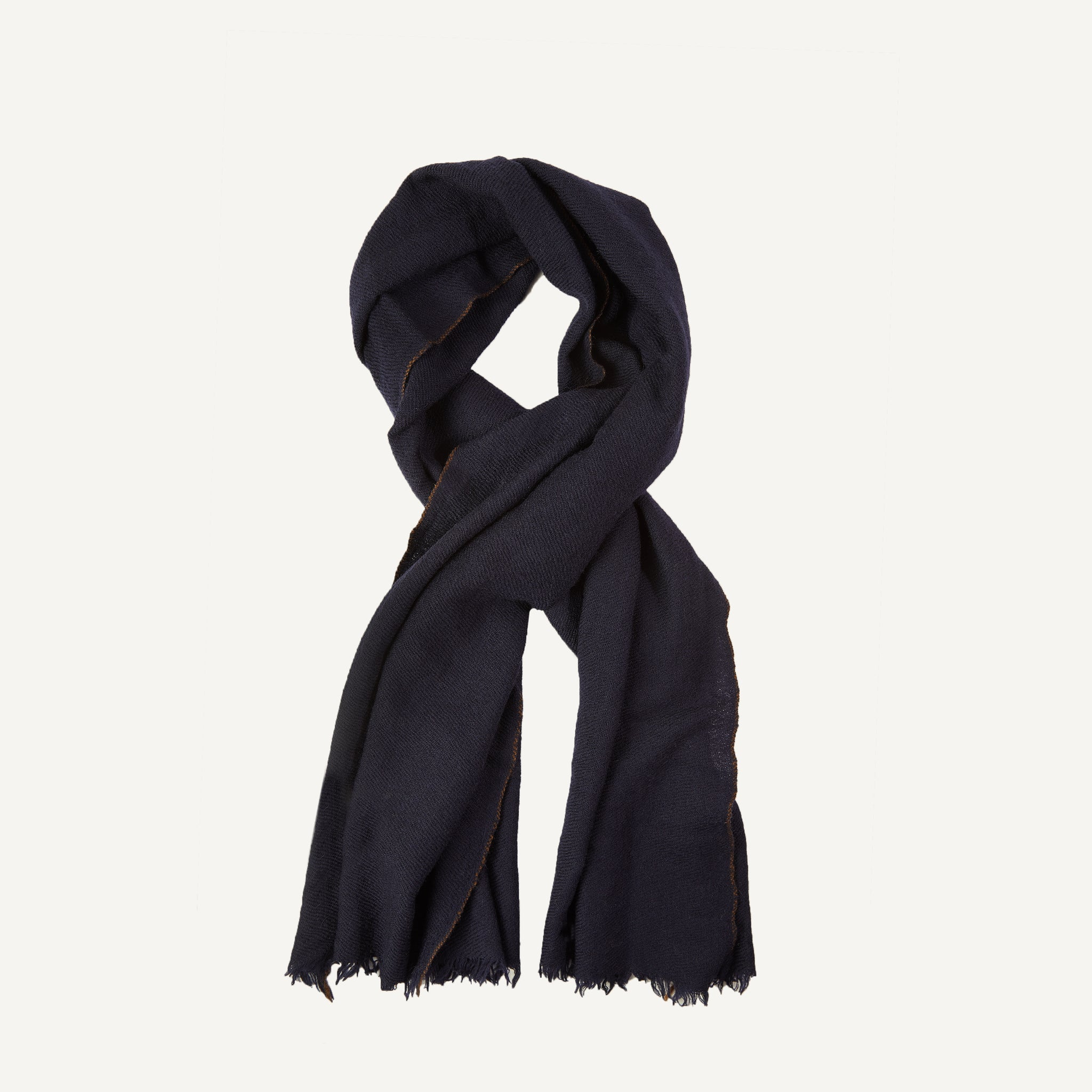 PLAIN GOODS WOOL SCARF
