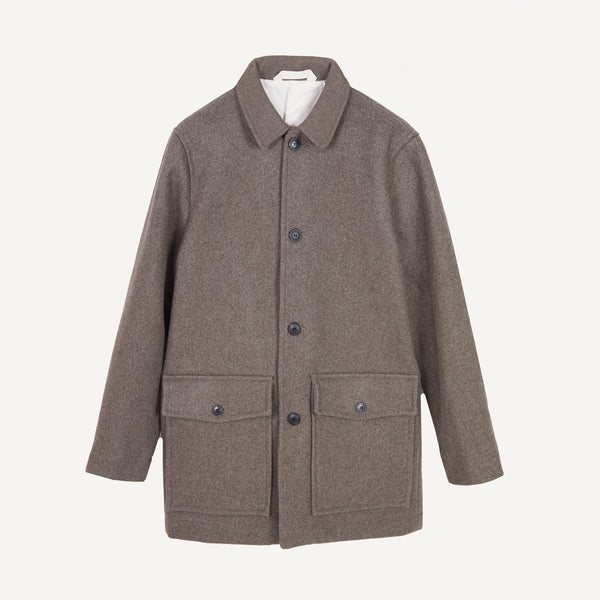 OUTLAND HOLDEN WOOL COAT