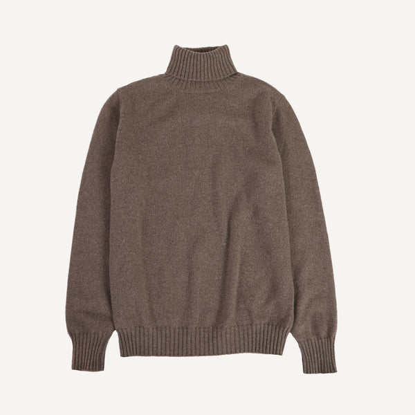 PLAIN GOODS CASHMERE TURTLENECK