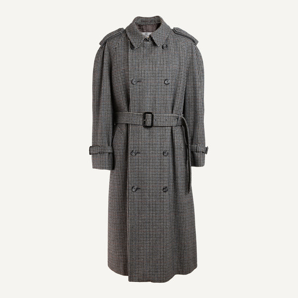 VINTAGE AQUASCUTUM + PLAIN GOODS OVERCOAT