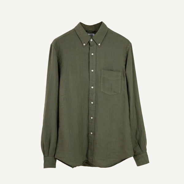 ASPESI LINEN BUTTON DOWN