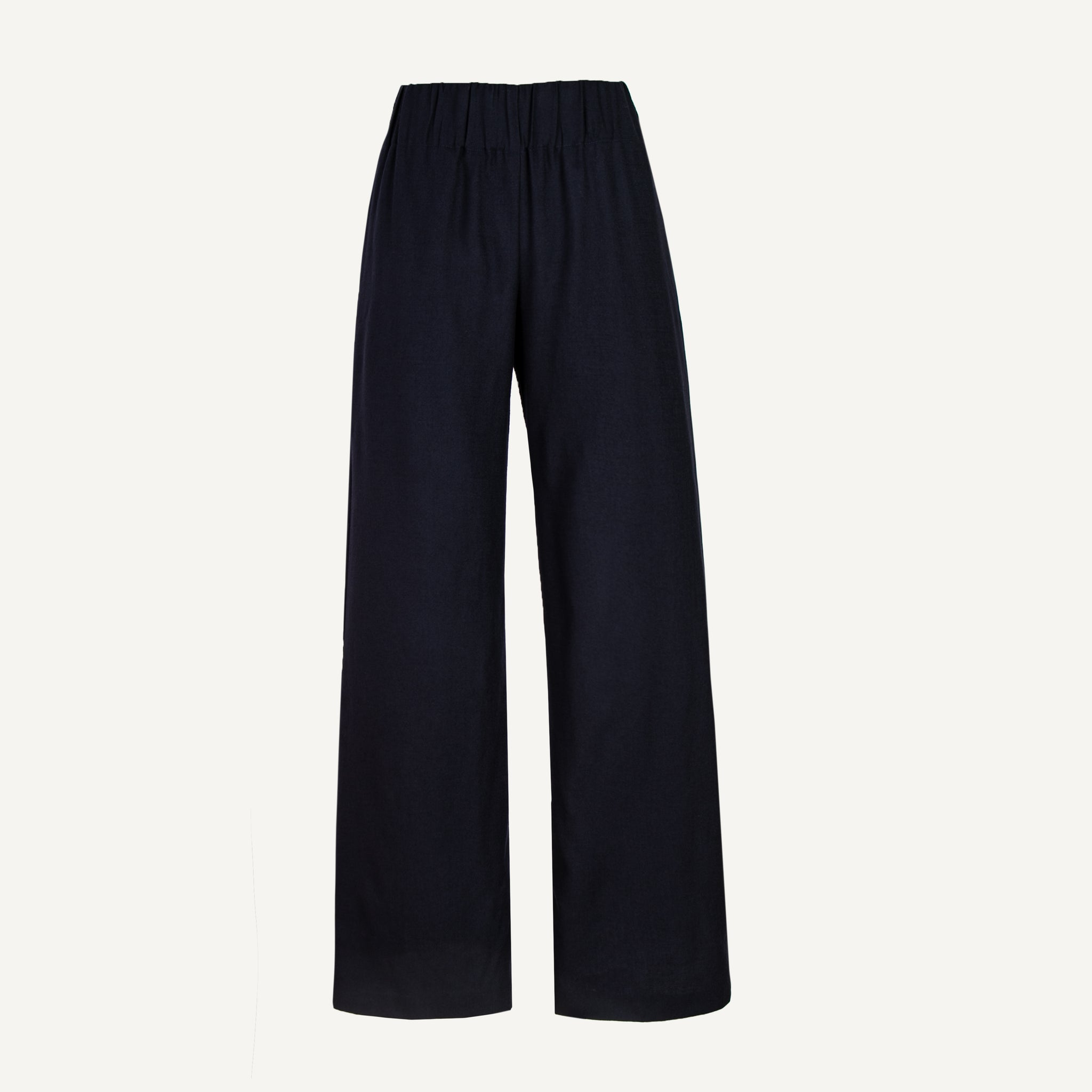 ASPESI WOMEN'S LONG WOOL TROUSERS