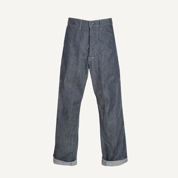 A VONTADE 1940'S DENIM TROUSERS