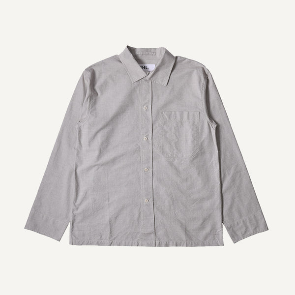 MHL MEN'S ASYMMETRIC COLLAR SHIRT