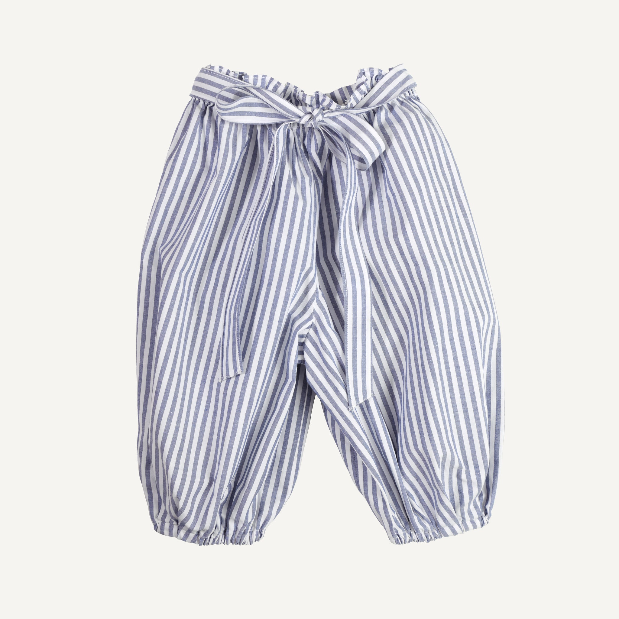 VINTAGE STRIPED BLOUSE + BALLOON PANT SET