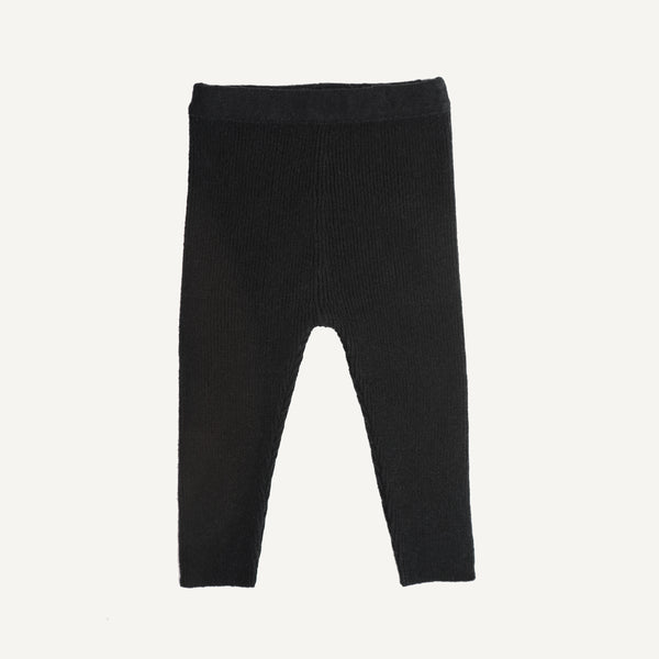 KETIKETA WOOLEN LEGGINGS - Black