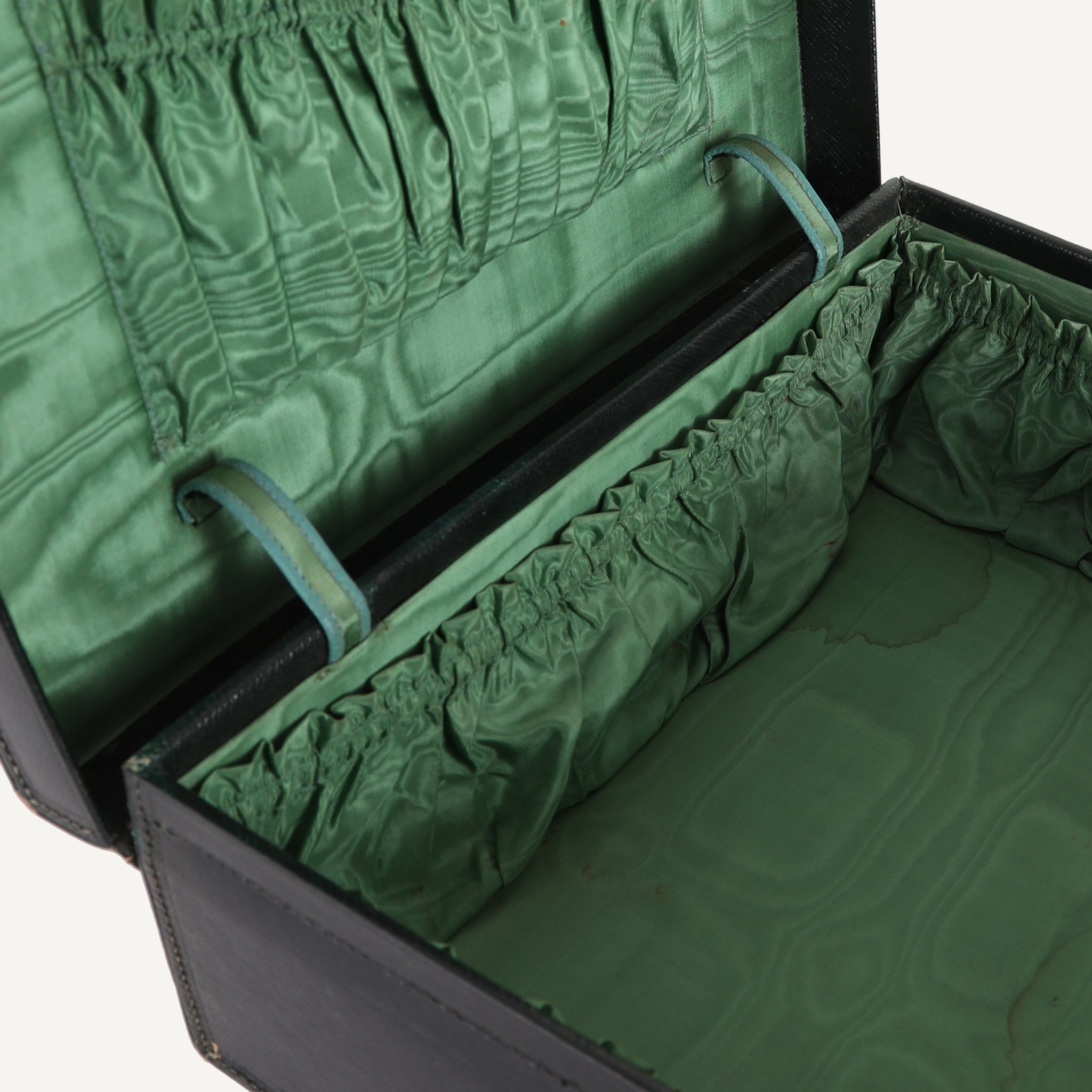 ANTIQUE LEATHER FINNAGAN'S TRAVEL CASE