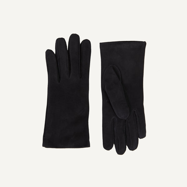 PLAIN GOODS WOMEN'S SUEDE GLOVES