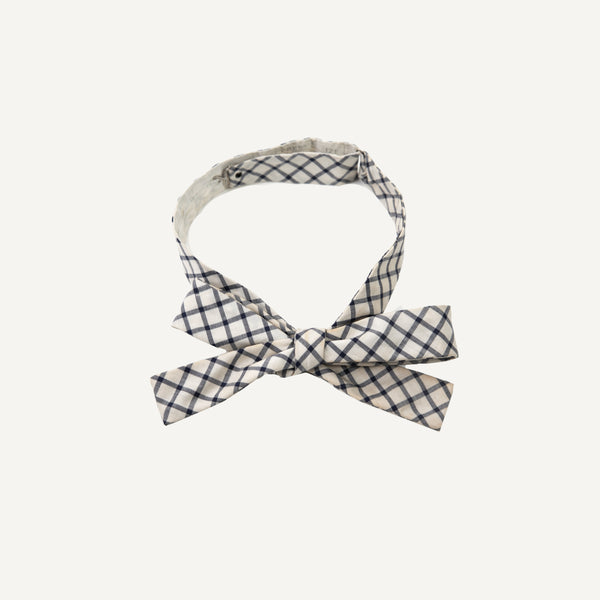VINTAGE CHECKED BOW TIE