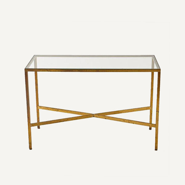 VINTAGE BRASS TABLE