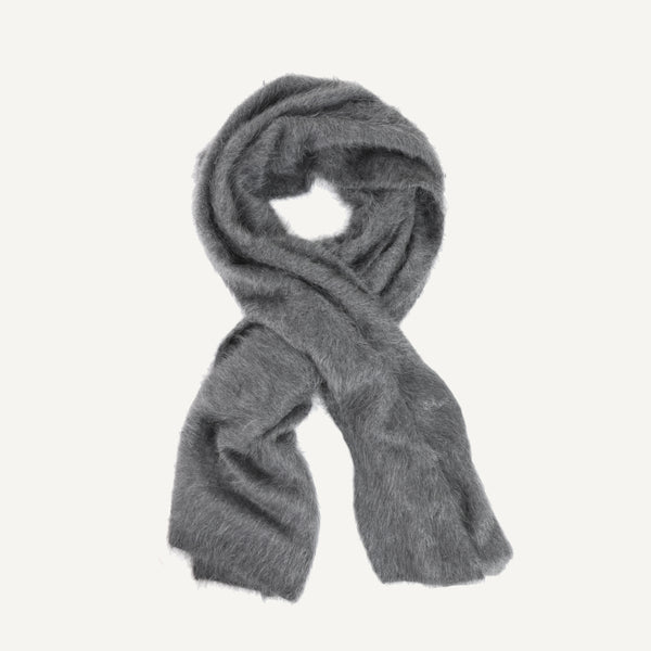 GRISAL BRUSHED CASHMERE SCARF