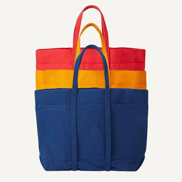 AMIACALVA MEDIUM WASHED CANVAS TOTE