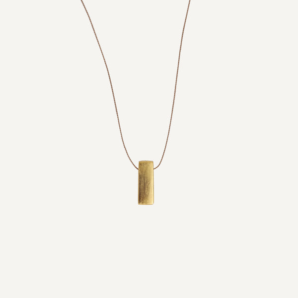 CAROL LESKANIC SMALL BAR NECKLACE