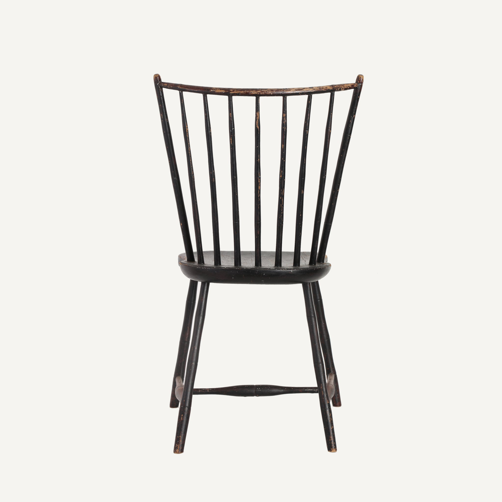 ANTIQUE FAUX BAMBOO WINDSOR CHAIR