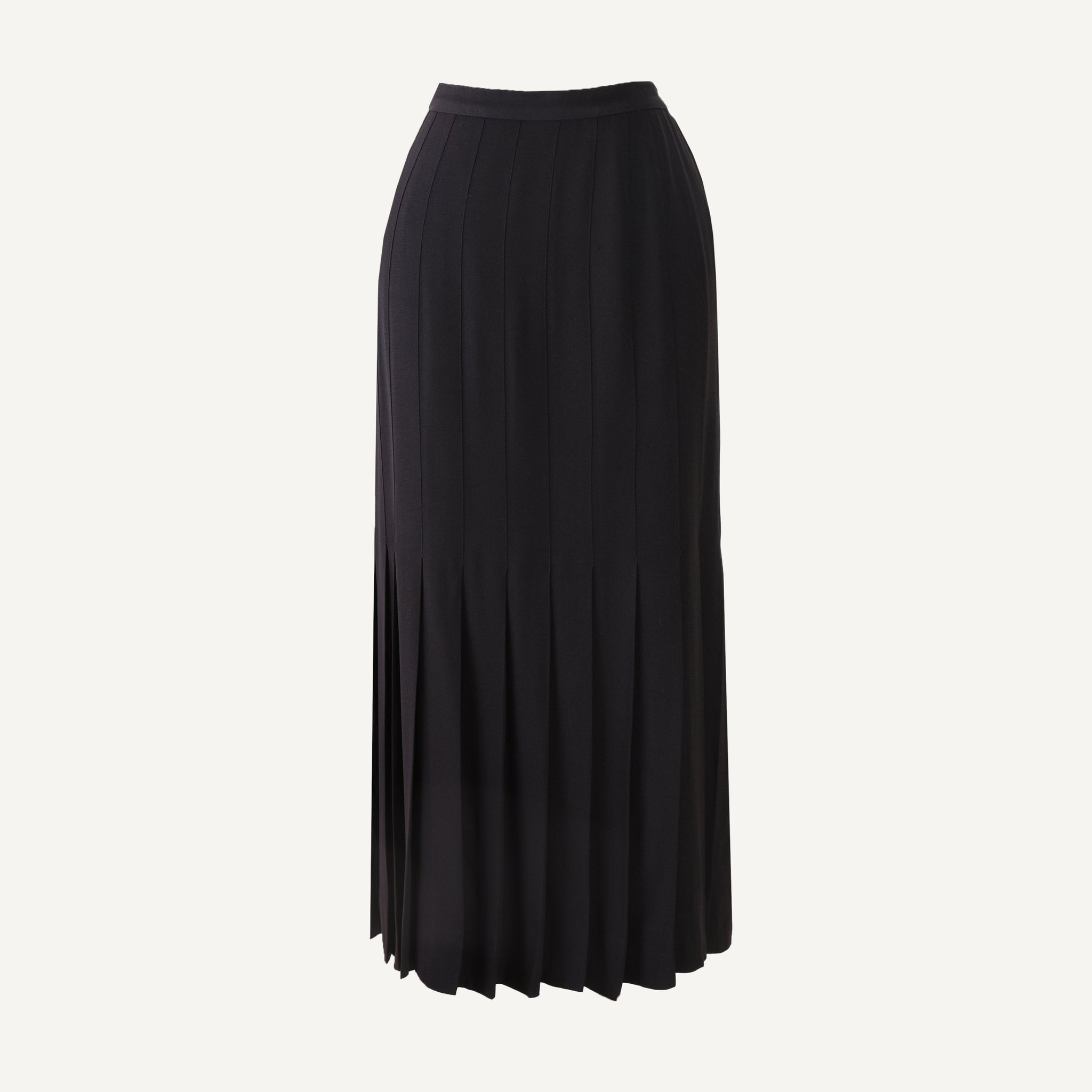 VINTAGE CHANEL PLEATED SKIRT