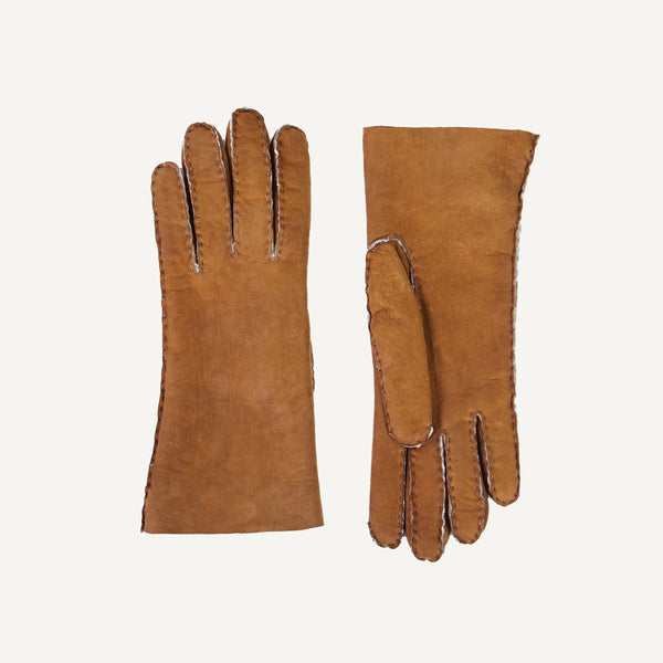 PLAIN GOODS WOMEN'S SHEARLING GLOVES