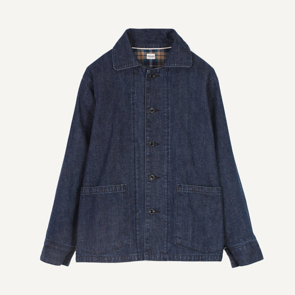 CHIMALA UNISEX SELVAGE DENIM JACKET