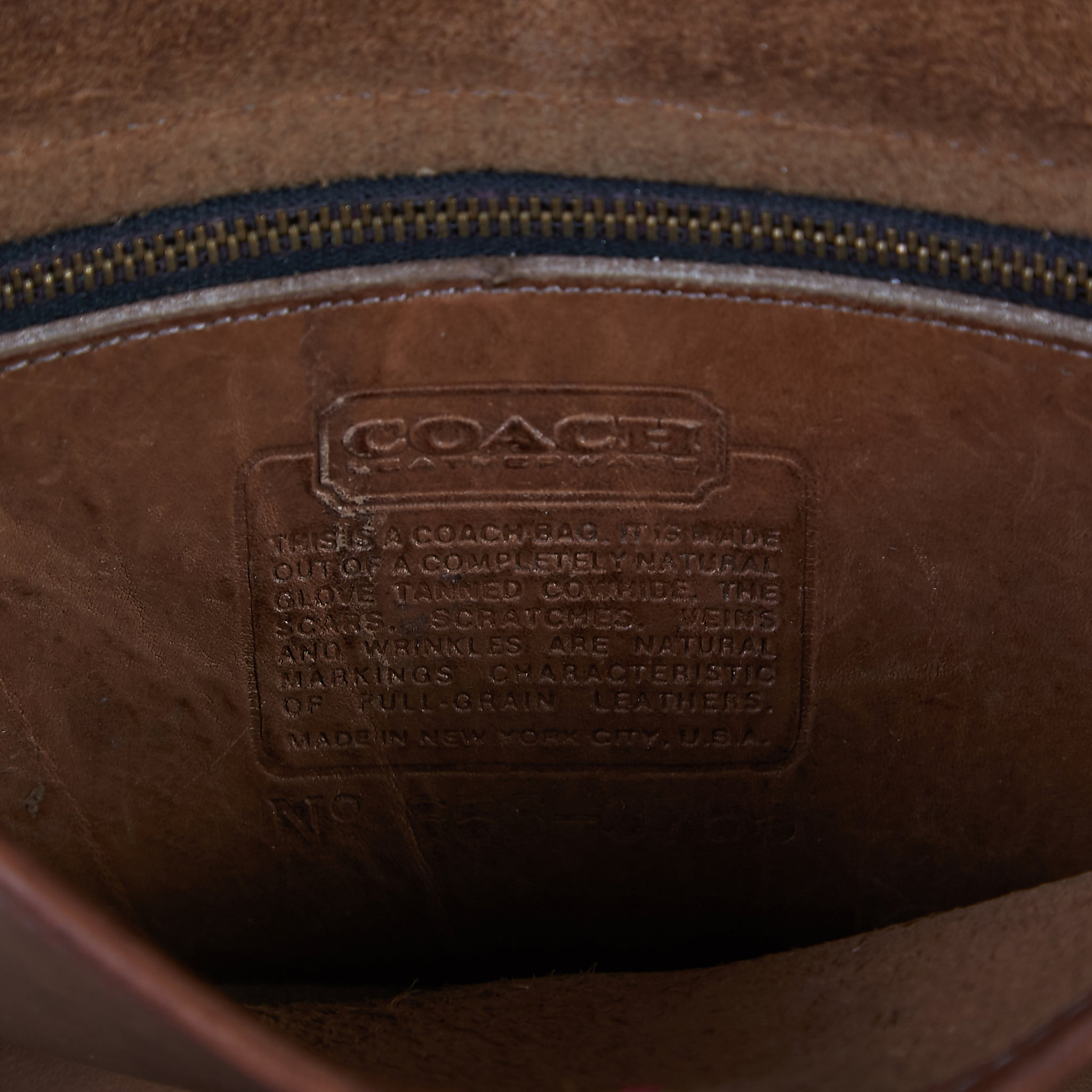 VINTAGE COACH CROSS BODY BAG
