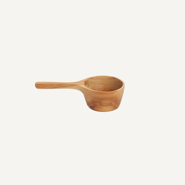 TEAK COFFEE MEASURING SCOOP