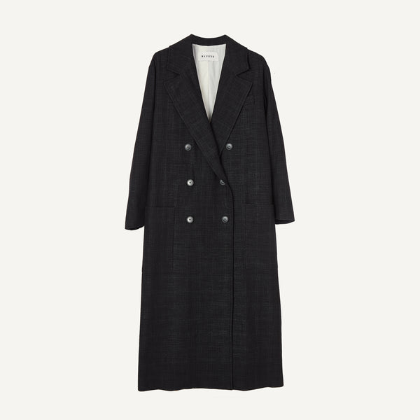 MASSCOB LONG DB COAT