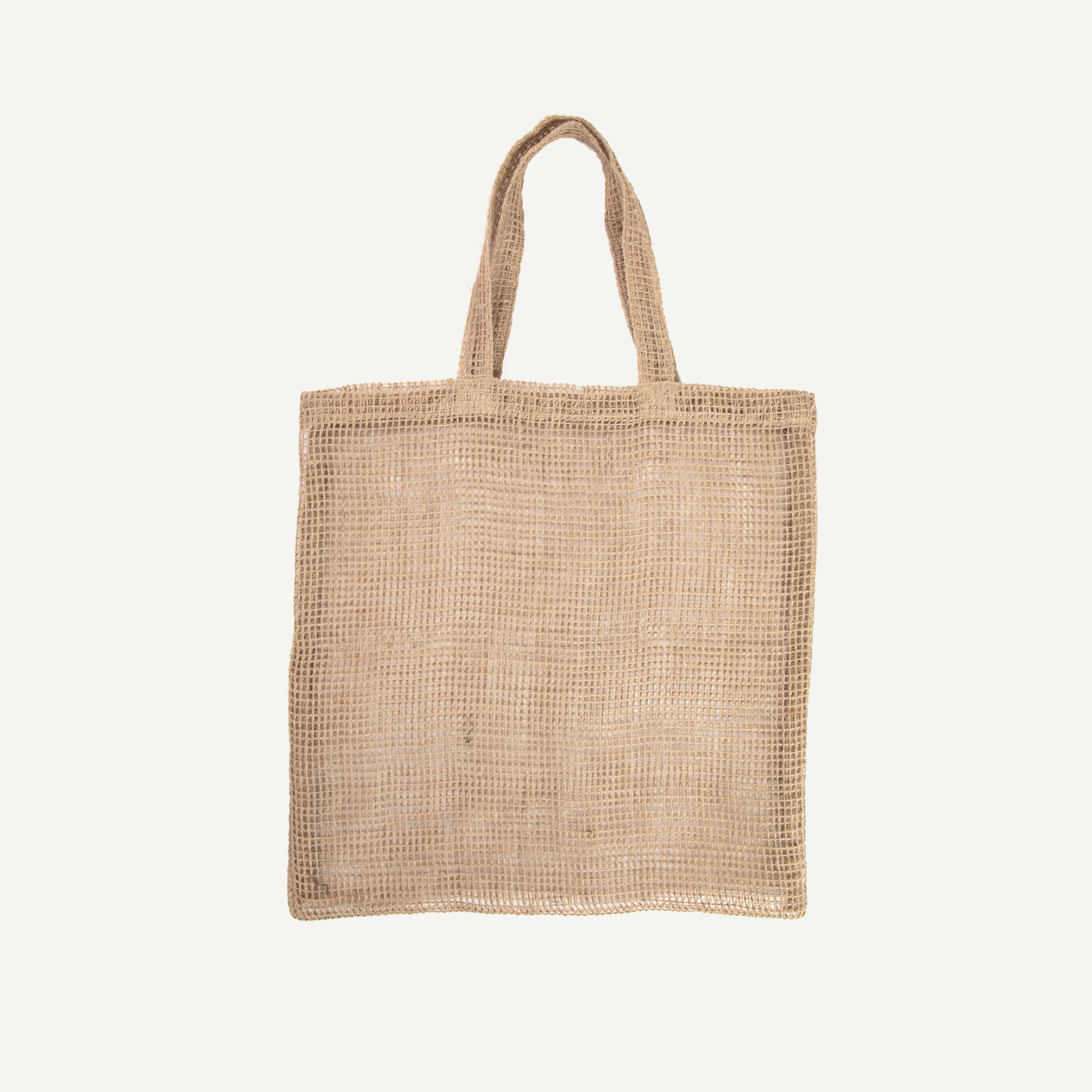 FAIR TRADE JUTE SHOPPING BAG