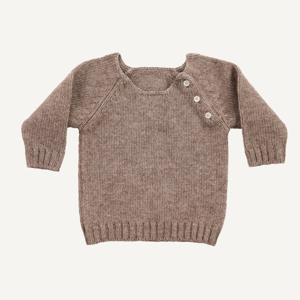 KETIKETA YAK 3-BUTTON SWEATER
