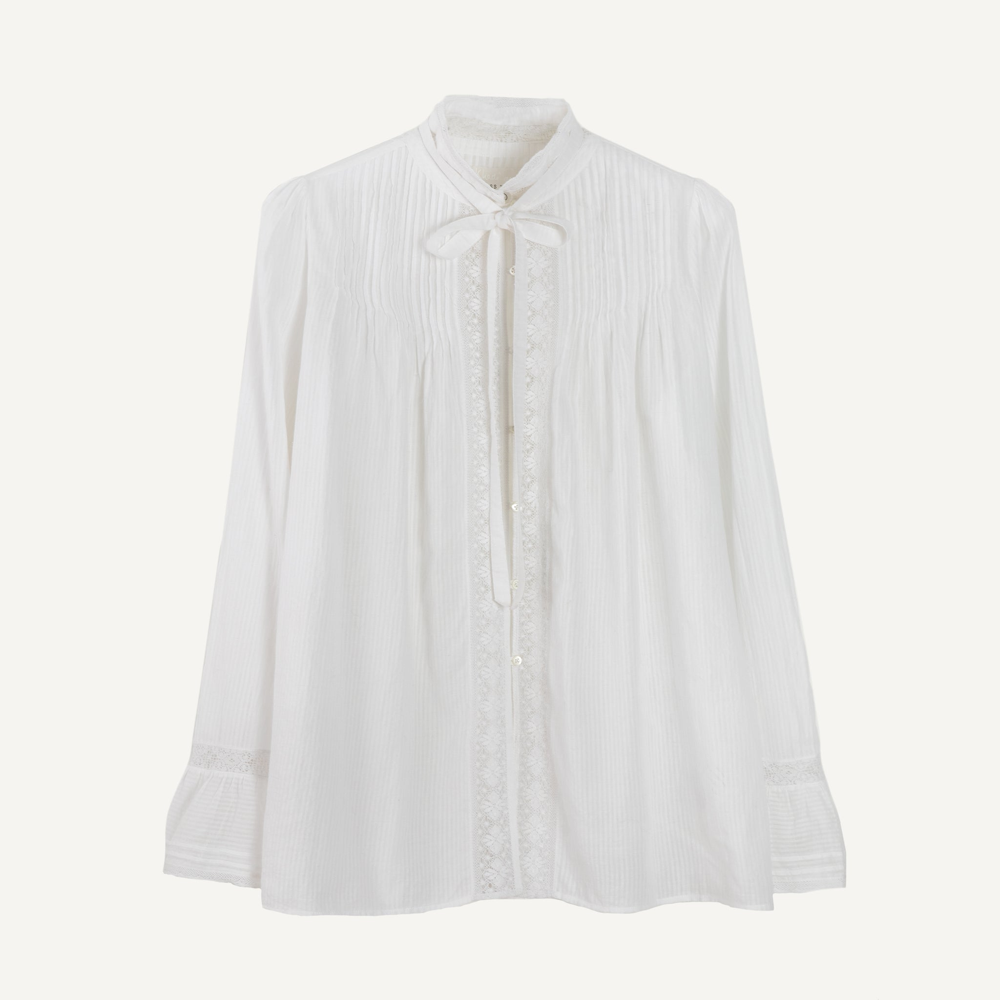KHADI & CO LACE BLOUSE