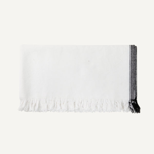 KHADI & CO. STRIPED BATH TOWEL