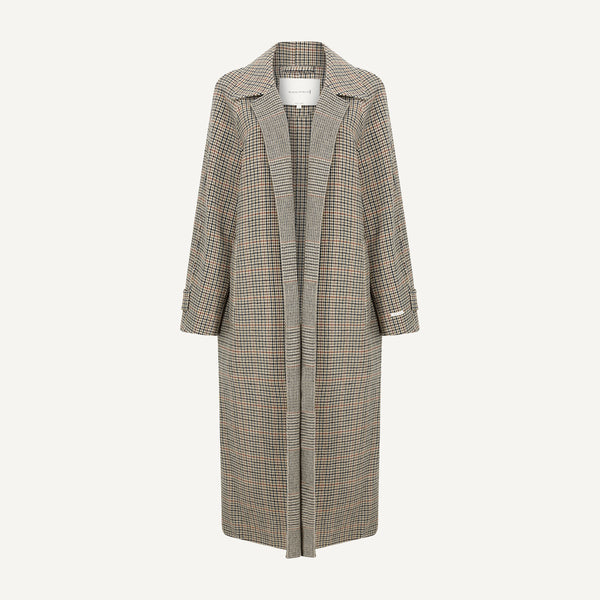MACKINTOSH WOOL RAGLAN COAT