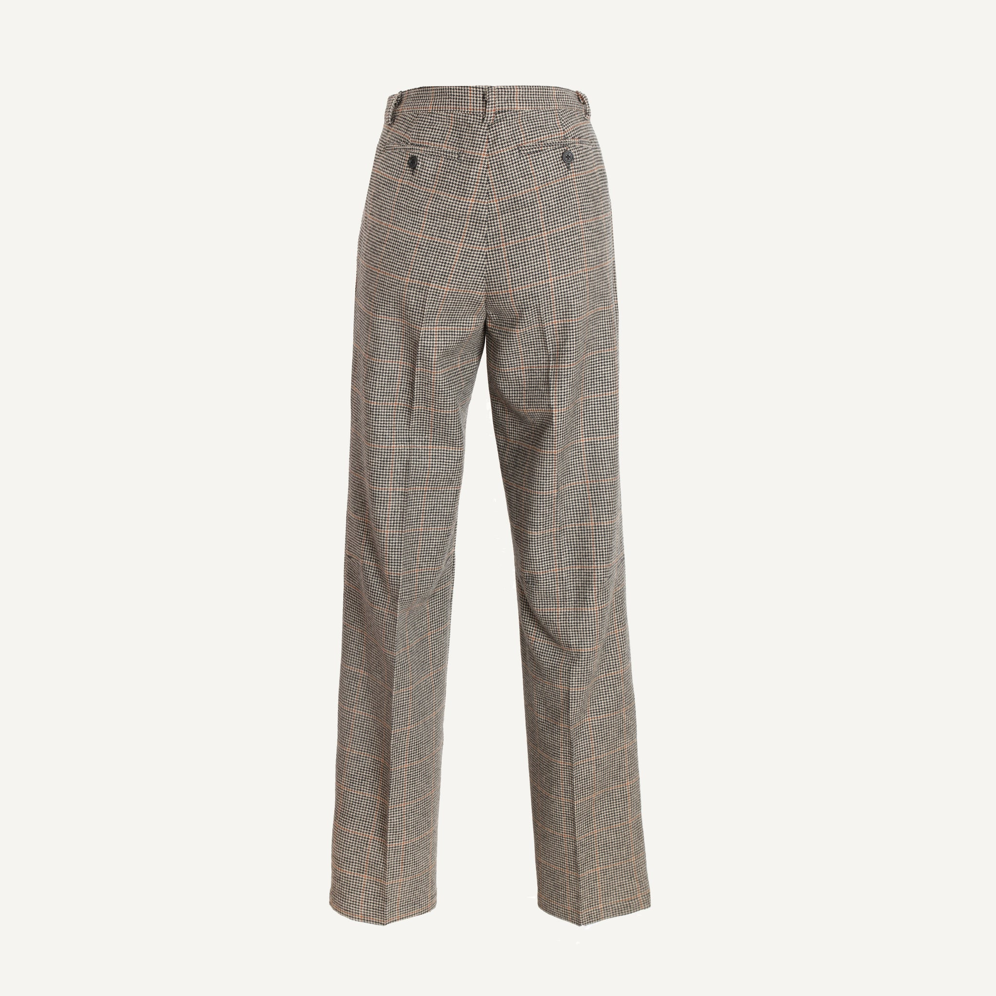 MASSIMO ALBA PLEATED TROUSERS