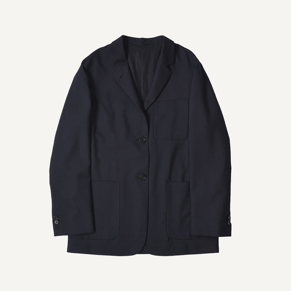 MARGARET HOWELL WOMEN'S LIGHTWEIGHT WOOL BLAZER