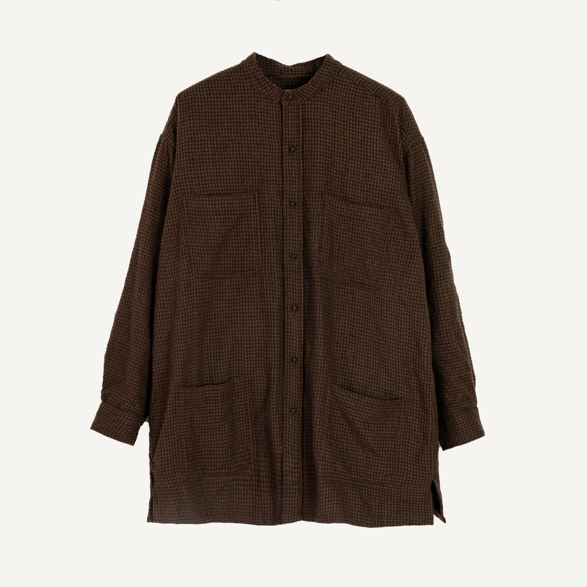 MAISON DE SOIL WOOL OVERSHIRT